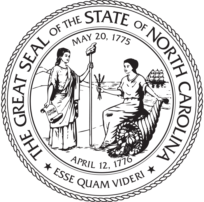 The Great Seal of North Carolina